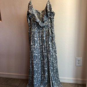 American Eagle floral maxi dress